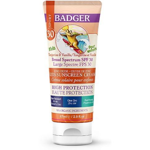Badger Zonnebrandcrème voor kids  - SPF30