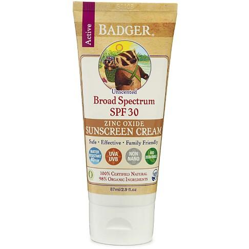 Badger Zonnebrandcrème Zonder Geur - SPF30