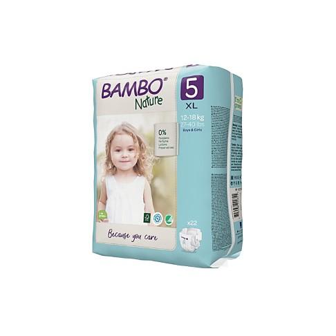 Bambo Nature Luier - Junior - maat 5 (22 stuks)