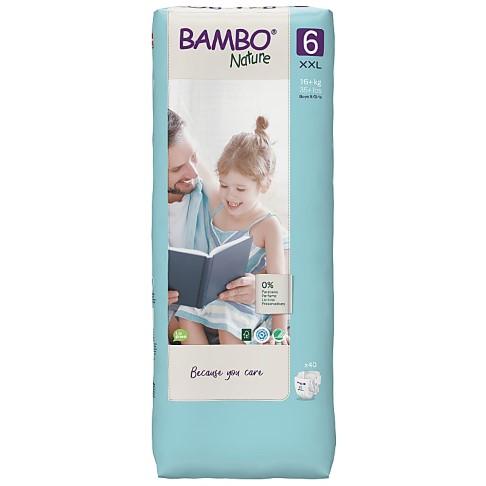 Bambo Nature Luier - XL Plus - maat 6 (44 stuks)