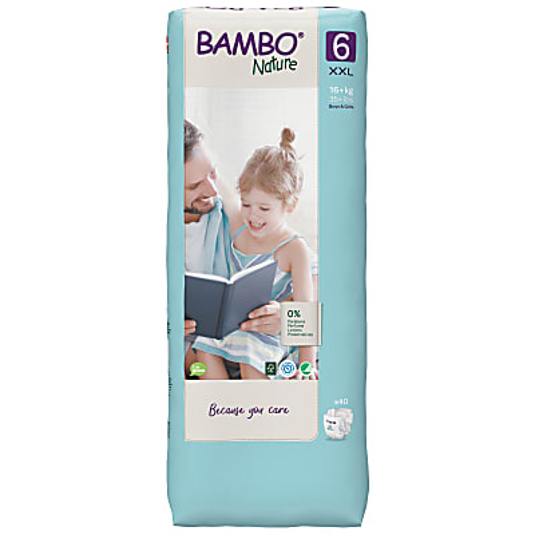 Bambo Nature Luier - XL Plus - maat 6 (40 stuks)