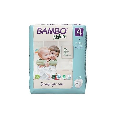 Bambo Nature Luier - Maxi - maat 4 (30 stuks)