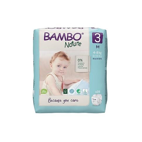 Bambo Nature Luier - Midi - maat 3 (28 stuks)