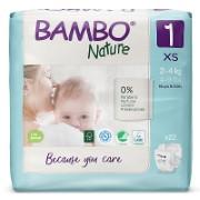 Bambo Nature Luier - New Born - maat 1 (22 stuks)