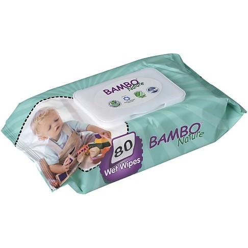 Bambo Nature Babydoekjes Zonder Geur (80 stuks)