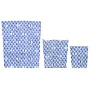BeeBAGZ Starter Pack - Blauw (1 small, 1 medium, 1 large)