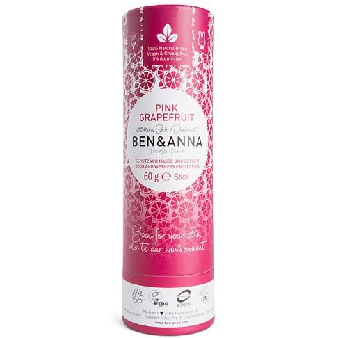 Ben & Anna Deodorant Stick - Pink Grapefruit