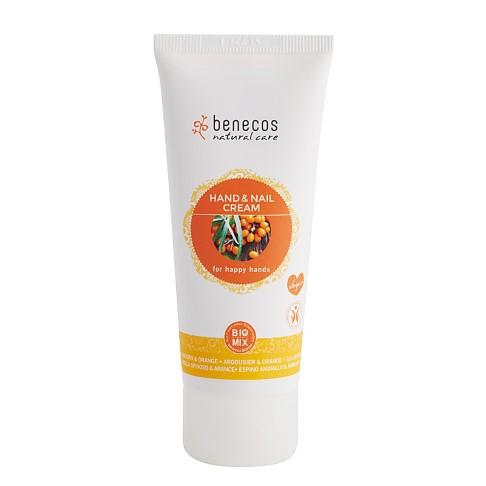 Benecos Hand en Nagel Crème - Duindoorn & Sinaasappel