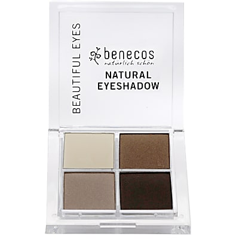 Benecos Natural Quattro Oogschaduw - Coffee & Cream
