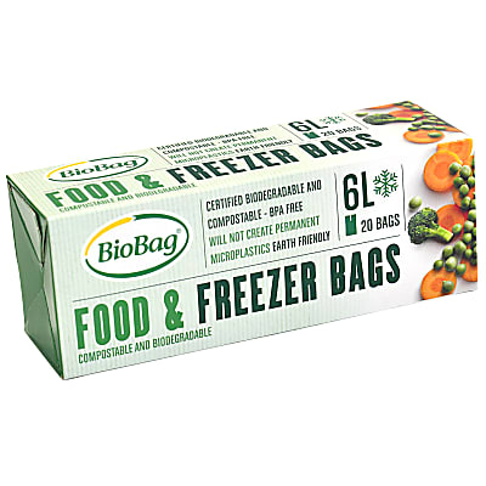BioBag Voedsel / Vriezer Zakken - 6 Liter