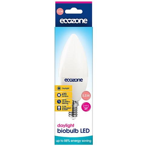 Ecozone LED E14 Fitting Daglicht Lamp 5.5 watt (equil 40 watt)