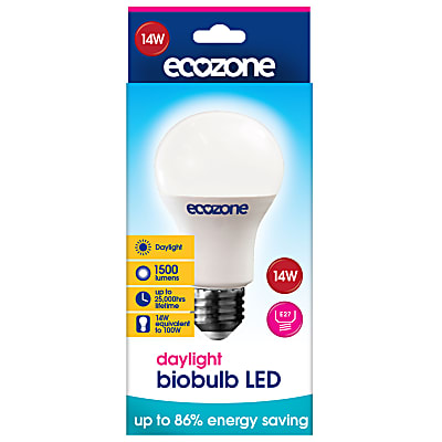 Ecozone LED E27 Screw Fitting Daglicht 14 watt (equil. 100 watt)