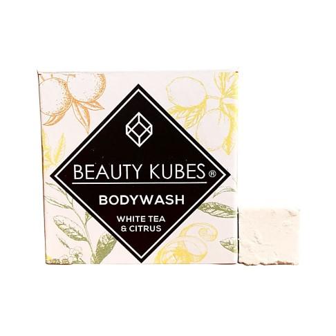 Beauty Kubes Douchegel - Witte Thee & Citrus