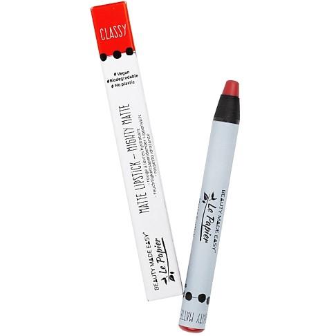 Beauty Made Easy Le Papier Matte Lipstick - Classy (plasticvrij)