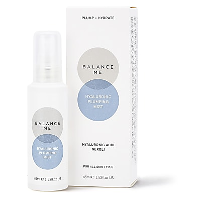 Balance Me Plump & Hydrate Hyaluronic Plumping Mist