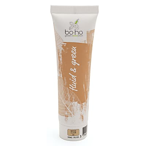 Boho Organic Fluid Foundation 02 - Beige clair
