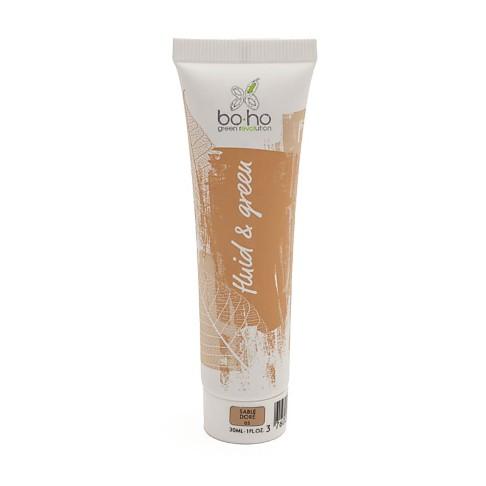 Boho Organic Fluid Foundation 05 - Sable doré