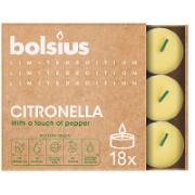 Bolsius Citronella Theelichten (18 stuks)