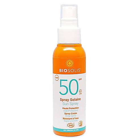 Biosolis Spray solaire SPF50