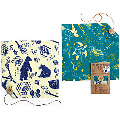 Bee's Wrap 2-Pack Sandwich Wildlife - Limited Edition