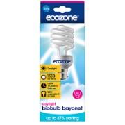 Ecozone Bio Spaarlamp Daglicht 60W (Bayonet fitting)