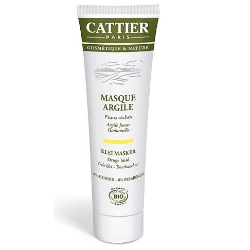Cattier-Paris Gele Klei Masker (droge huid)