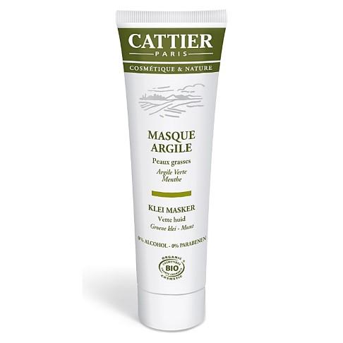 Cattier-Paris Groene Klei Masker (vette huid)