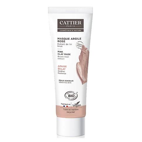 Cattier-Paris Roze Klei Masker (gevoelige huid)