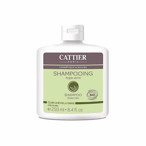 Cattier-Paris Shampoo Vet Haar - Groene Klei