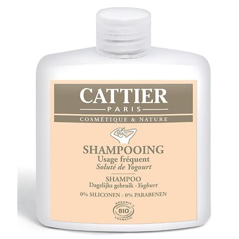 Cattier-Paris Shampoo dagelijks gebruik - Yoghurt
