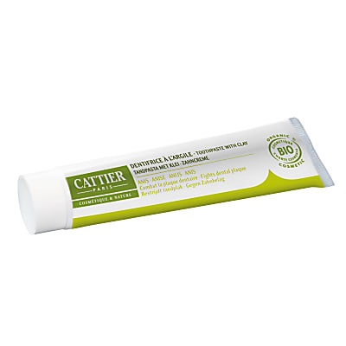 Cattier-Paris Tandpasta Anijs - Anti-tandplak Anti-tandsteen
