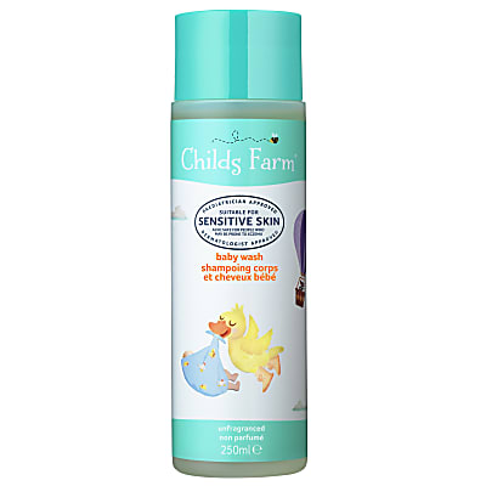 Childs Farm Baby Wash - Fragrance Free (250ml)