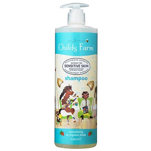 Childs Farm Shampoo Munt & Aardbei - 500ml