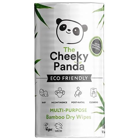 The Cheeky Panda Bamboe Droge Doekjes (100 doekjes)