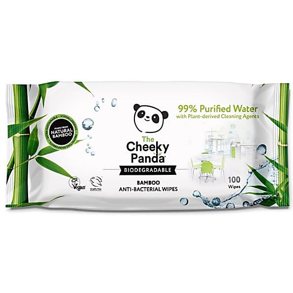 The Cheeky Panda Antibacteriële Bamboe Allesreiniger Doekjes