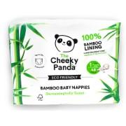 Cheeky Panda Bamboe Baby Luiers Maat 1 (2.5kg)
