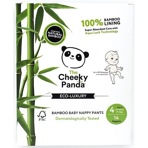 Cheeky Panda Bamboe Baby Luiers Maat 4 (9-14 kg)