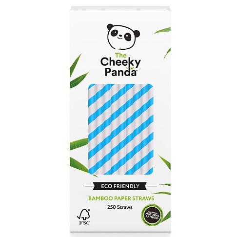 The Cheeky Panda Bamboe Rietjes - Blauw
