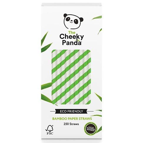 The Cheeky Panda Bamboe Rietjes - Groen