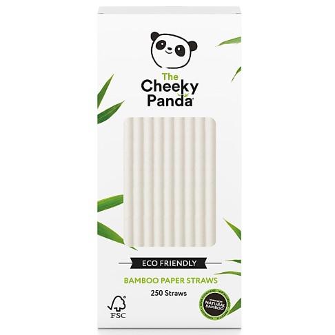 The Cheeky Panda Bamboe Rietjes - Wit