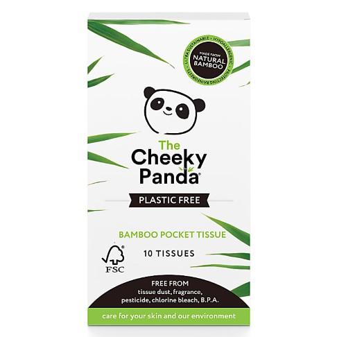 Cheeky Panda Bamboo Pocket Tissues Plasticvrij