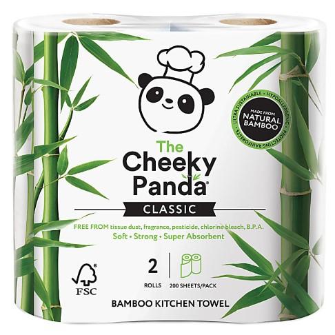 The Cheeky Panda Bamboo Keukenrol (2 stuks)
