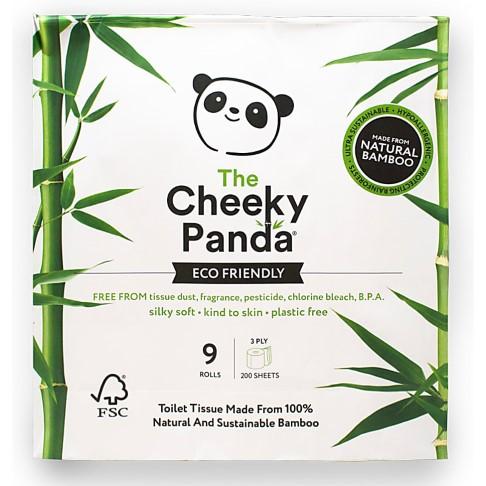 The Cheeky Panda Bamboe Toiletpapier - 9 rollen