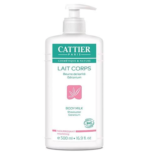 Cattier-Paris Bodylotion Sheabutter & Geranium - 500 ml
