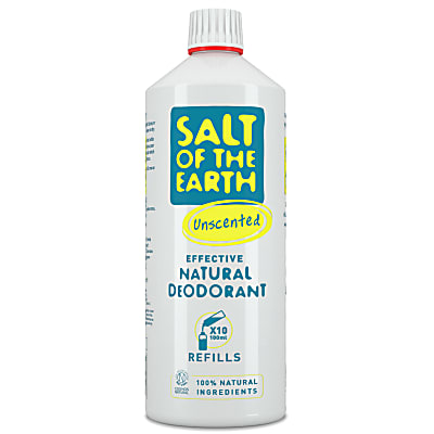 Salt of the Earth Natural Crystal Unscented Deodorant Spray Refill