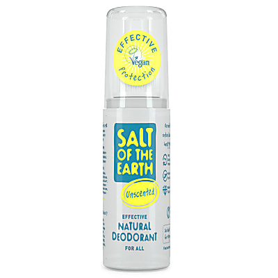 Salt of the Earth Unscented Natural Travel Spray 50ml