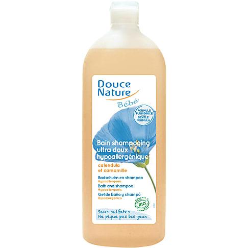 Douce Nature - Bad & Shampoo Baby 1l
