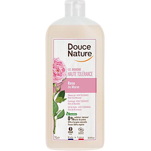 Douce Nature Douchegel Rozen (gevoelige huid) 1L