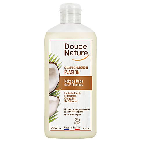 Douce Nature - Douchegel & Shampoo Iedere Dag (Kokos) 250ml