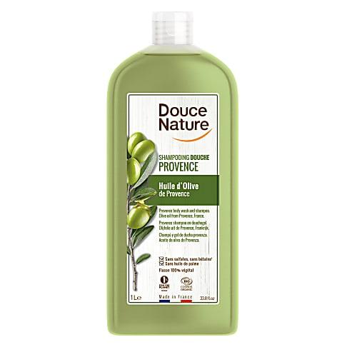 Douce Nature Familie Shampoo & Douchegel Olijfolie 1L